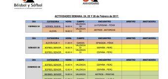 ACTIVIDADES 24, 25 Y 26 DE FEBRERO.
