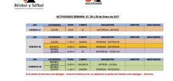ACTIVIDADES FIN DE SEMANA 28 Y 29 DE FEBRERO.