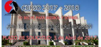 NUEVOS PLAZOS DE ESPECIALIZACIÓN DEPORTIVA 2017 – 2018