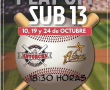PLAY OFF SUB 13 – FECHAS