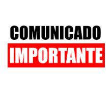 COMUNICADO TEMPORAL